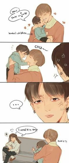 Read Taekook family from the story Vkook Fanart by XIIIVI (TaeforKook❤) with reads.