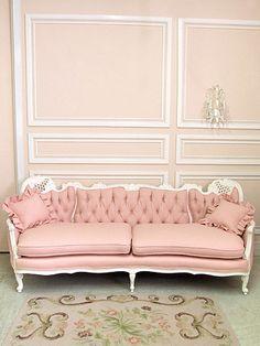 A pale pink