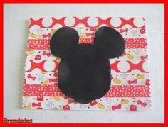 Felicitación con la figura de Mickey