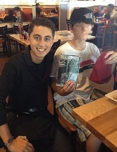Our team is diverse but we all care about our guests. This pro-skater/server proves that!