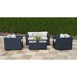Enjoy the warm weather in style with this Polo Collection 4 Piece Deep Seating Set. Outdoor Furniture Sets, Outdoor Decor, Online Furniture, Warm Weather, Cool Things To Buy, Polo, Valentines, Deep, Twitter