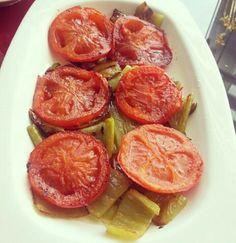 Alintidir. Biber zeytinyagi  ile domates tereyag ile kizartilmis