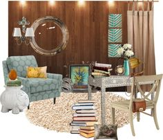 """Reading Nook"" by deca30 on Polyvore"