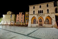 People's Square in Split
