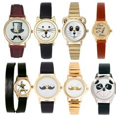 9d557616d6bf These adorable watches can all be found here  ) Relojes