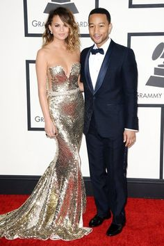 Grammy Awards 2014 - Celebrity Fashion Trends