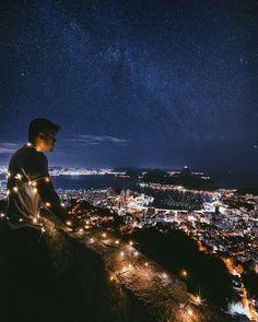#Bomdia luminoso do topo da Cidade Maravilhosa, no mirante Dona Marta! Mal podemos esperar para descobrir lugares incríveis com você! Use a hashtag #bomdia para nos mostrar por onde você anda. Foto de @danielrjrj