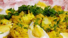 Kedgeree har indiske undertoner med bruken av karri og basmatiris. Den røkte hysen (koljen) derimot er typisk engelsk. Retten blir servert til frokost, men hos oss ville vi vel heller servert den til lunsj, eller kanskje middag.