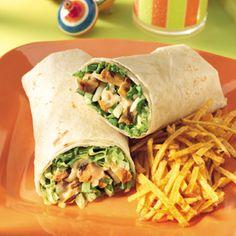 Buffalo Chicken Wraps Recipe - How to make Buffalo Chicken Wraps | All Healthy Recipes