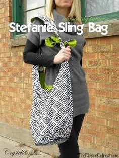 Stefanie Sling Bag - The Ribbon Retreat Blog