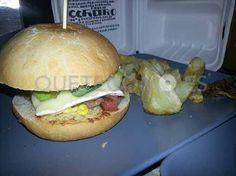 Burger de Cordero   Restaurante Gourmet Burguer Bar Carnivale en A Coruña