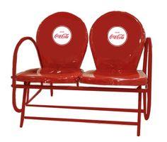 Image of Coca-Cola Double Seat Glider