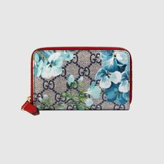 GUCCI Gg Blooms Card Case. #gucci #bags #leather #canvas
