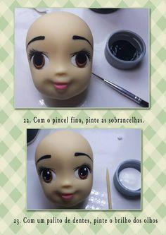 eyes technique figurine tutorıal