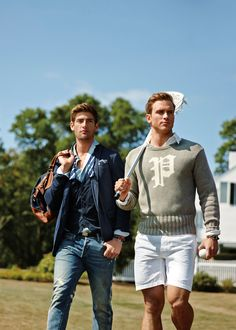 New Fall Arrivals from #POLO are authentically preppy with a youthful, collegiate-inspired spirit