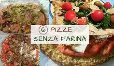 La pizza alternativa si realizza con basi ed ingrendienti semplici come quinoa, zucchine, cavolfiore e cous cous. Ecco 6 ricette di pizze senza farina!