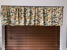 Window Covering or Pillow Cover Blue Jays