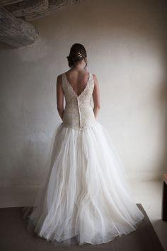 Robe de mariée dentelle #realwedding