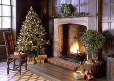 Image result for christmas georgian house