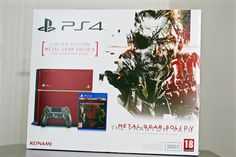 [Unboxing] Console PS4 Collector Metal Gear Solid V