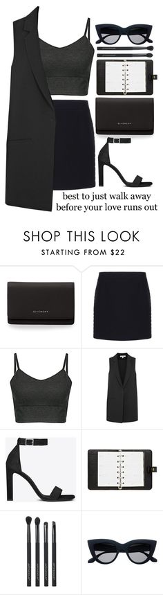 """#346"" by the777 ❤ liked on Polyvore featuring Givenchy, Balenciaga, Elizabeth and James, Yves Saint Laurent, Mulberry and Japonesque"