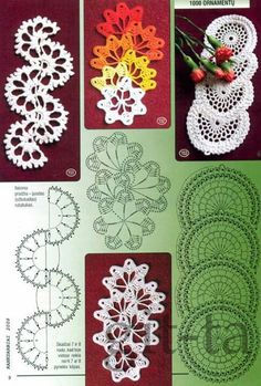 This is a type of crochet or joining that I like for bookmarks, but again, I can't find the pattern source on Pinterest---aaargh I FEEL LIKE AN IDIOT OF THE NTH DEGREE! THE GRAPHS ARE RIGHT THERE!!