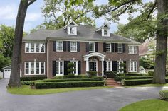 colonial brick home - Google Search