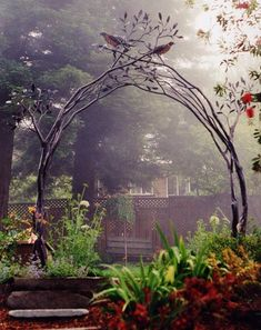 <3<3<3Tree branch trellis arch<3<3<3