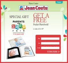 FREE Pocket Photobook at Jean Coutu!