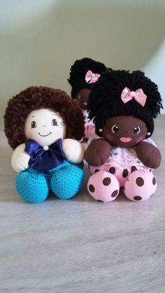 Bonecos de fuxico  por Patrícia Souza   peça o seu   Peças feitas por encomenda