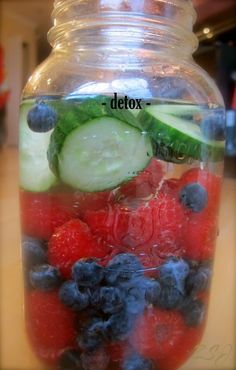#So true and great motivation.# Detox Vitamin Water- Purify your blood and body with this awesome vitamin water!