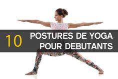 10 postures de yoga pour débutants #yoga                                                                                                                                                                                 Plus