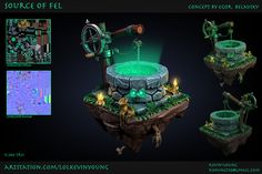 ArtStation - Source of Fel, Kevin Young