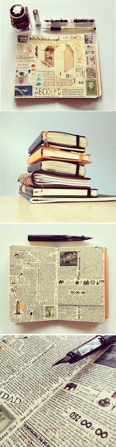 The Journal Diaries - JOSE'S MOLESKINE    http://www.seaweedkisses.com/2014/07/the-journal-diaries-joses-moleskine.html