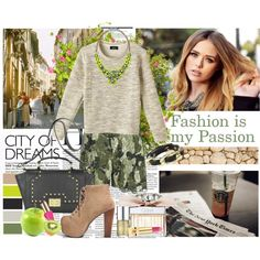 Girly Camo by molnijax on Polyvore