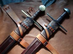 DBK Custom Swords - Custom Scabbards - Albion Arn -- Sweet.