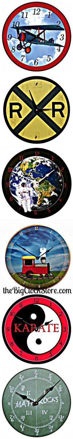Kid's Themes Clocks!