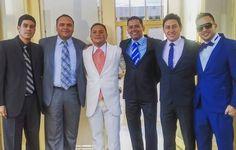 """Los amigos deben estar en las """"buenas"""" y sobre todo en las """"malas"""". Por eso hoy estamos acompañando a Edwin Ramírez en su matrimonio."""