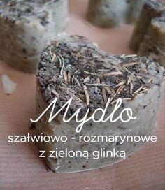 Mydło szałwiowo - rozmarynowe z zieloną glinką, ręcznie robione. http://www.elamo.eu/kolekcja/strona-glowna/mydlo-szalwiowo-rozmarynowe