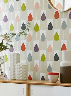 print & pattern blog - new SS16 Scion 'Lohko' collection of fabrics and wallpaper