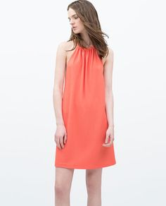 OPEN BACK DRESS WITH HALTER TOP