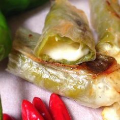 "Texas Egg Rolls | ""These are like individual chile rellenos. Serve with salsa and or guacamole."""