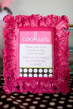 cute love the frame idea