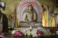 Buddha in one of the 5 temples.