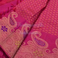 #Traditional #pink #kanjivarams,from #Thirukumaransilks,can shop with us at +919842322992/whatsapp or at thirukumaransilk@gmail.com Indian Silk Sarees, Pure Silk Sarees, Wedding Silk Saree, Kanchipuram Saree, Indian Designer Wear, Saree Collection, Blouse Designs, Beautiful Outfits, Designers