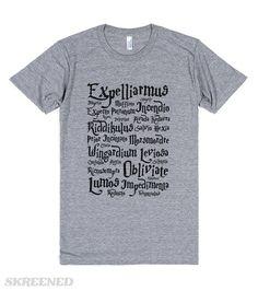 Harry Potter Spells | Harry Potter Spells. Pick your poison. #Skreened