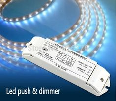 (38.40$)  Buy here  - New 10A*1CH LED Dimmer fluorescent lamp dimmer 0/1-10v LED strip dimming driver push dimmer , 3 years Waranty, Free shipping
