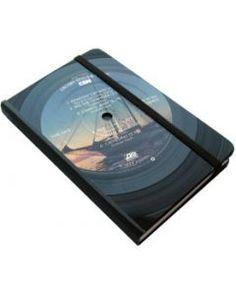 Vinyl Record Notebook - Small