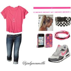 """Sporty Girly"" by jalyncamille on Polyvore"