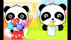 ►Baby Panda Care ✮ How to Take Care of Babies Necessities ✮  Baby punda ...